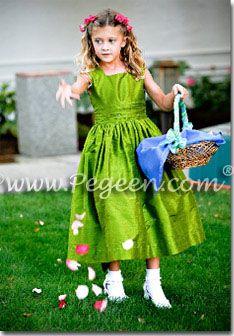 3e998c732d Green Weddings   Flower Girl Dresses