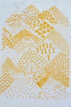 Sérigraphie / Textile. OKO Le petit atelier.