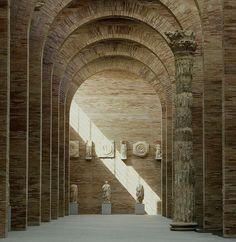 Rafel Moneo Museo Nacional de Arte Romano Merida, Spain. 1980-85 via Vaumm arkitekturak