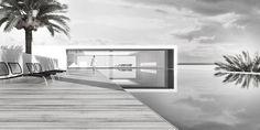 edburg.com | architectural visualization, 3D Rendering, Beachhouse, BCS, MX 3d Rendering, Beach House, Architecture, Architecture Visualization, Beach Homes, Arquitetura, Architecture Illustrations, Beach Houses, Architecture Design