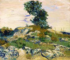 urgetocreate: Vincent van Gogh, The Rocks, 1888