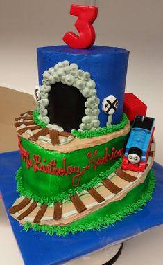 #buttercream #Thomas #birthday Thomas Birthday, Birthday Cake, Thomas Cakes, Desserts, Food, Birthday Cakes, Meal, Deserts, Essen