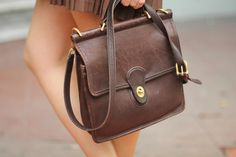 vintage Coach: this is exactly the briefcase.