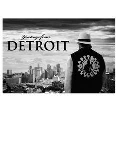 Made in Detroit Kid Rock Postcard