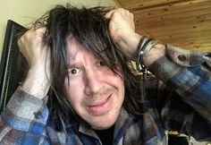 John Oszajca Pulling his hair out