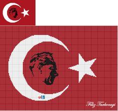 CUMHURİYET imizin 94.Yılı KUTLU OLSUN ! Designed by Filiz Türkocağı...