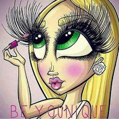 Those lashes tho!!