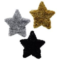 Graduation day for you or your loved one is a big deal. Meaning that you also need decorations that are a big deal. These tinsel stars measure 5.9x5.5x1.75-in. and come assorted among silver, gold, and black. Perfect for graduation parties and resale in party supply stores. Graduation Celebration, Graduation Day, Graduation Parties, Party Supply Store, Pot Lights, Queen Annes Lace, Dollar Tree Store, Present Gift, Disney Frozen