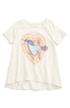 42df14e9a5722 Main Image - Tucker + Tate Rainbow Glitter Cloud Tee (Toddler Girls
