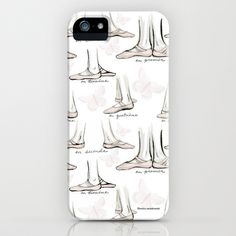 Ballet iPhone & iPod Case by Moira Birch Swiatkowski - $35.00