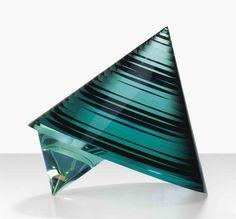 #glass #art - Cone Sculpture by Vaclav Cigler