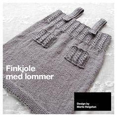 Ravelry: Finkjole med lommer pattern by Marte Helgetun