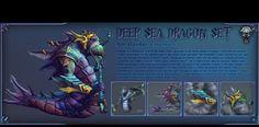 Steam Workshop :: Soul of deep sea dragon set