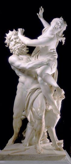 Bernini. Le rapt de Proserpine.