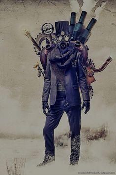 The steampunk man himself.