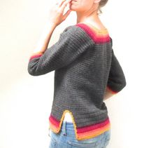 PDF Pattern for Crochet Autumn Sweater