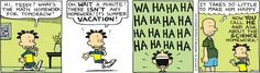 """Big Nate"" is usually the first comic I look at every day -- so I guess that makes it my #1 favorite!  Today's strip (June 24, 2013) made me spontaneously smile."