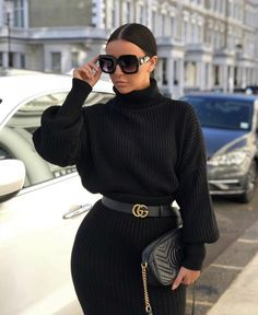Source by mzbettycrocker Fashion outfits Boujee Outfits, Classy Outfits, Casual Outfits, Fashion Outfits, Fashion Hacks, Fashion Tips, Black And Gold Outfit, Black Women Fashion, Womens Fashion