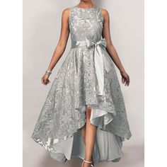 Womens fashion, Wedding or party, Fashion and elegant, Fre Tight Dresses, Sexy Dresses, Casual Dresses, Fashion Dresses, Girls Dresses, Dresses Elegant, Pretty Dresses, Beautiful Dresses, High Low Lace Dress