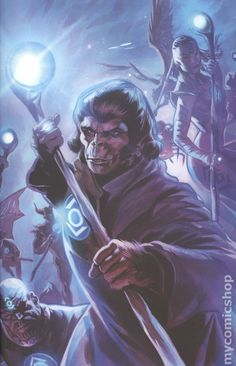 Planet of the Apes Green Lantern (2017) 5D