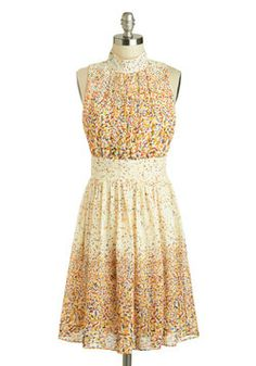 Windy City Dress in Confetti, #ModCloth I am so glad my cousin in getting married: I have the perfect excuse to buy this, finally!