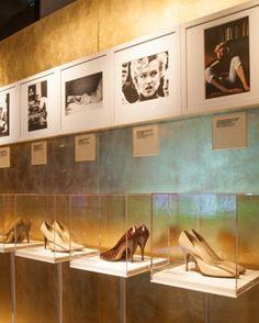 Ferragamo shoes worn by Marilyn