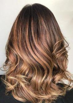 65 Tiger Eye Hair Color Inspirations - Fashiotopia