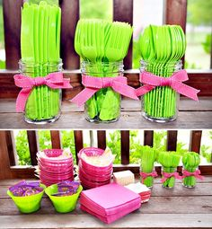Find Mason jars to hold utensils at www.urbita.com