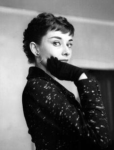 "rareaudreyhepburn: "" Audrey Hepburn photographed at her London home for the…"