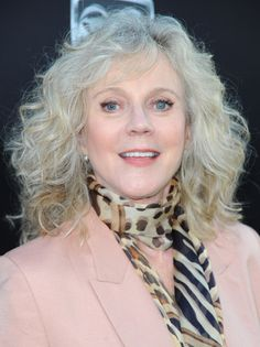 Hair Cuts to Enhance Waves | Blythe Danner Hairstyles for Medium Wavy Haircuts 2013