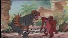 I want to be like you - Jungle Book Songs - one of my ABSOLUTE FAVORITES....