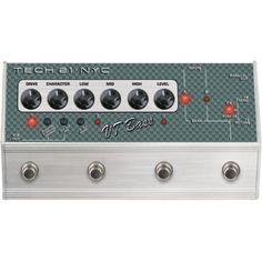 Tech 21 VT Bass Deluxe  http://www.youtube.com/watch?v=3obmpDOs8B4