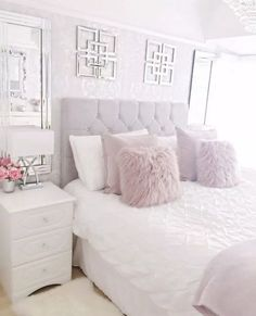 44 exquisitely admirable modern french bedroom ideas to steal 30 Dream Rooms, Dream Bedroom, Home Bedroom, Girls Bedroom, Bedroom Furniture, Trendy Bedroom, Neutral Bedrooms, Modern Bedroom, Bedroom Black