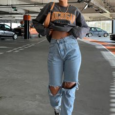 Adrette Outfits, Skater Girl Outfits, Indie Outfits, Retro Outfits, Cute Casual Outfits, Stylish Outfits, Skater Girl Fashion, Outfits With Jordans, Cute Jean Outfits
