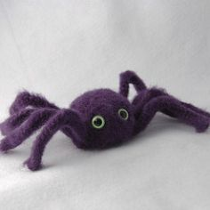 My daughter and I have enjoyed playing with the spider toy and singing The Itsy Bitsy Spider song. I'm also planning to make up a bunch of these guys for decorations for my favorite holiday -- Halloween!