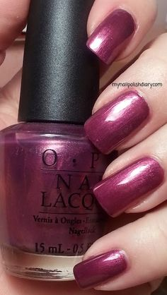 Queen Of West Web-erly is a reddish purple with silver shimmer. It was released in the 2009 Valentine's Day Collection.
