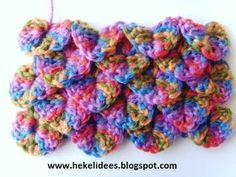 Hekel Idees: Hekelsteke Crochet For Beginners, Beginner Crochet, Crochet Lace, Crochet Necklace, Crochet Patterns, Afrikaans, Creative, How To Make, Jackson