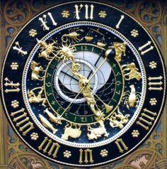 relogio astrológico by ceudodia