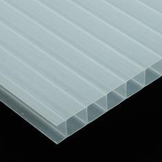 POLICARBONATO CELULAR TRANSLÚCIDO - La translucidez de este plástico semirrígido lo hace un material perfecto para trabajar en aplicaciones en las que interviene la luz natural o artificial: techos, mamparas divisorias, claraboyas, ...