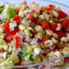 Raw Corn And Avocado Salad Recipe - Clean & Delicious & ZipList