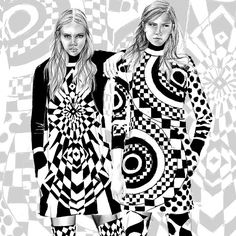 «EMILIO PUCCI AUTUMN/WINTER 2O15 @emiliopucci #emiliopucci #fashion #illustration #watercolour #fashionillustration #drawing #art #runway #alexandraclarke…»