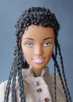 .this is one beautiful black Barbie!