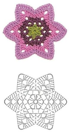 Patrones de motivos a Crochet – Útiles de Mujer