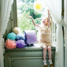 Romantic ロマンティック・ランドセル2016年限定モデル商品情報 | LIRICO ランドセル Frilly Socks, Kids Purse, Portrait Inspiration, Beautiful Children, School Bags, Children Photography, Bellisima, Cute Kids, Little Girls
