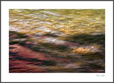 A river, whispering in colourful words