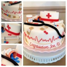 images of cakes or cupcakes for nurses - Google Search