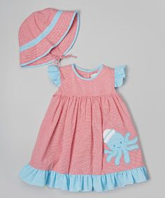 Another great find on #zulily! Red Octopus Dress Set - Infant & Toddler #zulilyfinds