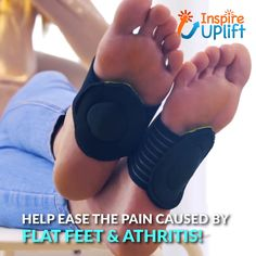 Cushioned Orthotic Arch Support Pads help ease the pain caused by Flat Feet and Arthritis! These 'semi-socks' provide you with all the support and comfort you need for tired, achy feet. Fallen Arches, Flat Feet, Herbal Cure, Hair Skin Nails, Foot Pain, Plantar Fasciitis, Healthy Beauty, Home Health, Acupressure