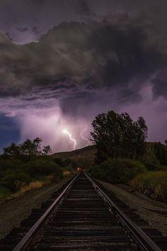 Lightning Rail ~ Emmett, Idaho