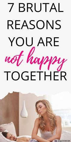 Why aren't you happy with your partner? What's the reason you feel unhappy and miserable? What's wrong with your relationship? Is it unhealthy? Is it broken? does he still love you? These are 7 reasons you aren't happy with your relationship/ Relationship advice for women/ Relationship tips/ Relationship problems/ Relationship tips/ Unhealthy relationship Long Distance Relationship Questions, Relationship Challenge, Best Relationship Advice, Successful Relationships, Relationship Problems, Healthy Relationships, Get Happy, Are You Happy, Miss My Ex
